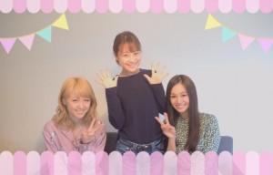 【エンタがビタミン♪】Ami&青木英李&鈴木奈々 同い年、仲良し3ショットに「私も混ぜてー!」