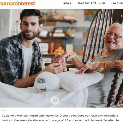 【海外発!Breaking News】89歳隣人を自宅でケア 最期まで寄り添った31歳の俳優(米)