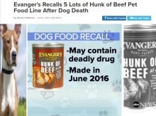 【海外発!Breaking News】ドッグフードに鎮静剤ペンタバルビタール混入で犬が死亡(米)