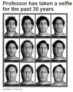 【海外発!Breaking News】30年間、毎日顔写真を撮り続けた男性 総数11000枚に(米)