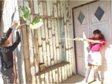 """【エンタがビタミン♪】山本美月、ツインテールの""""魔法少女""""に 杖ならぬゴルフクラブで男性を木に変える"""