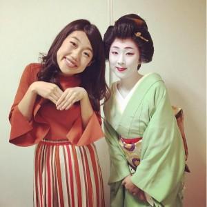 【エンタがビタミン♪】横澤夏子、新潟古町の芸妓さんと会うも「全部知りたい病」が出る
