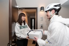 「本当に60分で届いた!」『ダヴうるおいお届け便』次回は福岡と大阪で実施