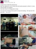 【海外発!Breaking News】危険ドラッグにより昏睡状態となった少年の写真を家族がSNSに公開(英)