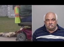【海外発!Breaking News】電動カートで犬を引きずりまわした男を逮捕(米)<動画あり・閲覧注意>