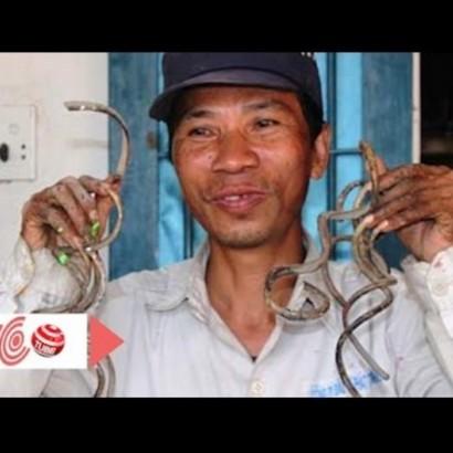 【海外発!Breaking News】35年間爪を切っていない男性 「折れたら死んでしまう」(ベトナム)