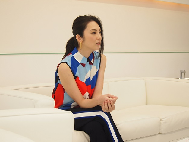 葉子について熱く語る田中麗奈