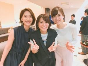 【エンタがビタミン♪】吉田明世アナ、赤江珠緒らとの3ショット公開 「赤江さんの帰りをみんな待ってます!」