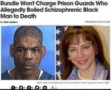 【海外発!Breaking News】統合失調症の黒人受刑者を虐待死させた看守、白人検事が不起訴処分に(米)