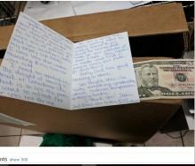 【海外発!Breaking News】スタバのバリスタ、客から謝罪の手紙を受け取る(米)
