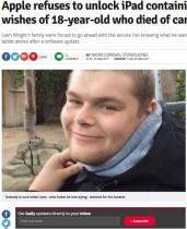 【海外発!Breaking News】亡き息子のiPadロック解除要請をアップル社が拒否(英)