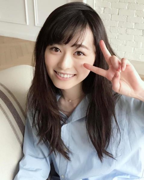"""""""まいんちゃん""""こと福原遥(出典:https://www.instagram.com/haruka.f.official)"""