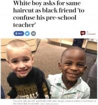 【海外発!Breaking News】「同じ髪型にすれば先生も気付かない」5歳児の思いに学ばされる(米)