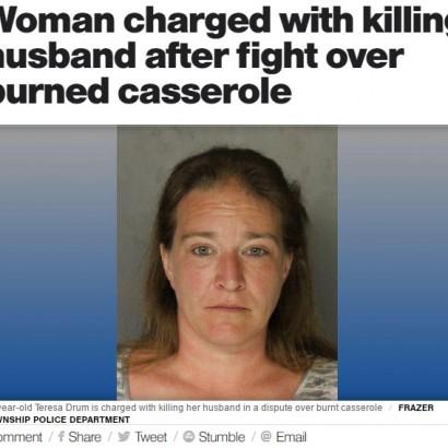 【海外発!Breaking News】「料理がまずい」に激怒 妻が夫を撃ち殺す(米)