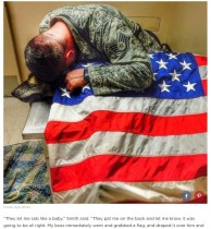 【海外発!Breaking News】大切なパートナー犬の最期まで寄り添った兵士 深い絆に涙(米)