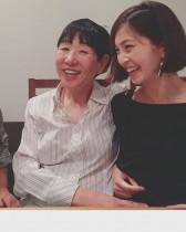 【エンタがビタミン♪】安田美沙子、ノーメイクの和田アキ子と2ショット 「美味しい」と手料理の合格点をもらう