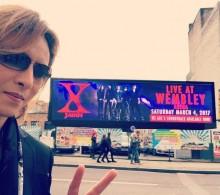 """【エンタがビタミン♪】YOSHIKI""""X JAPANロンドン公演""""リハで勘違い Toshlが指摘「テレビっ子になってる」"""