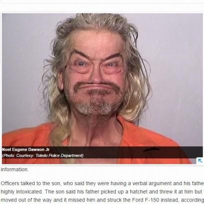 【海外発!Breaking News】「加工したの?」 逮捕された男のマグショットが変顔すぎる!(米)