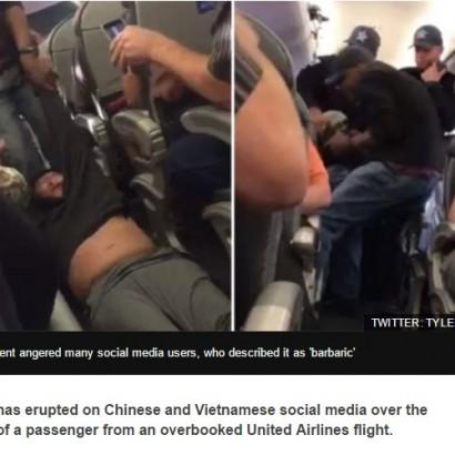 【海外発!Breaking News】ユナイテッド航空にネチズン怒り収まらず! 「中国国民は最後まで抗議すべき」