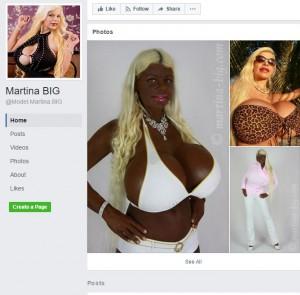 【海外発!Breaking News】「アフリカン」の肌色を目指す、巨乳モデルの白人女性(独)
