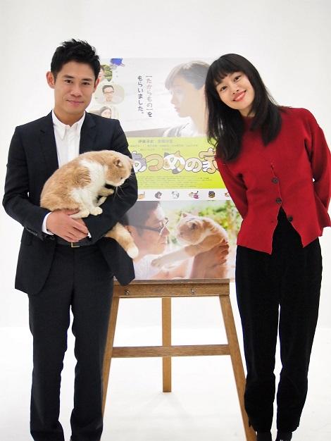 映画『ねこあつめの家』は何かの「きっかけ」になればと伊藤淳史と忽那汐里