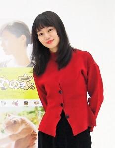映画『ねこあつめの家』で十和田ミチル役の忽那汐里