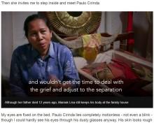 【海外発!Breaking News】「おじいちゃんは生きている」 亡骸と12年暮らす家族(インドネシア)