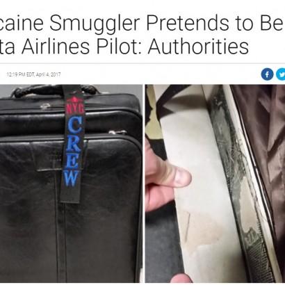 【海外発!Breaking News】パイロットに扮してコカインを密輸した男 税関で逮捕(米)