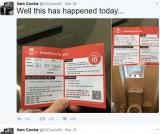 【海外発!Breaking News】開いていた窓から小包を投げ入れた郵便局員、とんでもない場所に命中(英)