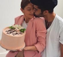 【イタすぎるセレブ達】ゼイン・マリク、恋人ジジ・ハディッドの誕生日を祝う「君は俺の全て」