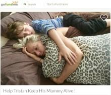 【海外発!Breaking News】「ママを死なせたくない!」がんと闘うシングルマザーに寄り添う8歳息子(豪)