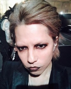 『THE GREAT ROCK'N'ROLL SEKIGAHARA 2017』でのHYDE(出典:https://www.instagram.com/hydeofficial)