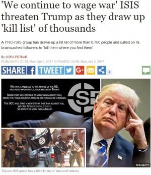 【海外発!Breaking News】トランプ大統領の名も IS支持ハッカー集団、8,786人の名前・住所入り殺害リスト公開