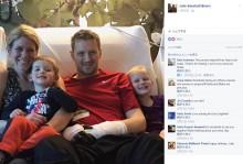 【海外発!Breaking News】息子からの溶連菌感染症による合併症で手足を切断した父(米)