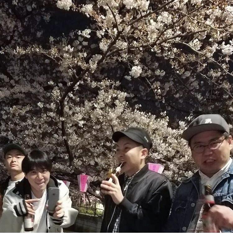 あばれる君、コカドケンタロウ、坪倉由幸、ウラシマンタロウ(出典:https://www.instagram.com/kokado_kentaro)
