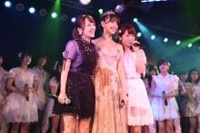 """【エンタがビタミン♪】小嶋陽菜""""AKB48卒業公演""""にたかみな「にゃんさんの偉大さ改めて感じた」"""