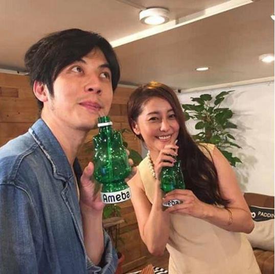 キンコン西野と熊切あさ美(出典:https://www.instagram.com/asami_kumakiri)