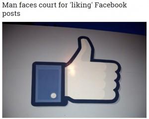 【海外発!Breaking News】Facebookの人種差別記事に「いいね!」ポチポチ 批判者を増やした疑いで男性訴えられる(スイス)