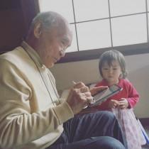【エンタがビタミン♪】詩人・谷川俊太郎氏と贅沢な2ショット 坂本美雨の娘に「羨ましい」の声