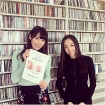 【エンタがビタミン♪】松井咲子、ヴァイオリニスト宮本笑里と再会 「共通の話題」で盛り上がる