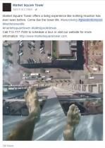 【海外発!Breaking News】スリル満点! マンション42階から突き出るガラス底のプール(米)