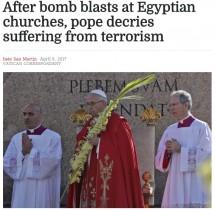 【海外発!Breaking News】ローマ法王予定通りエジプトへ テロにひるまず