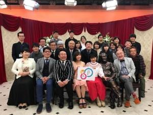 『一挙蔵出し! 宮崎80年スペシャル』の収録(出典:https://www.instagram.com/s.sakaihitomi)
