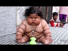 【海外発!Breaking News】生後8か月で体重17.2kg 日々重くなっていくインドの女児<動画あり>