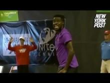 テニス試合中 近隣からの喘ぎ声に選手ブチ切れ(米)<動画あり>