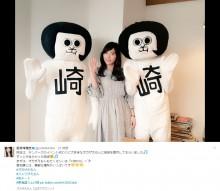 【エンタがビタミン♪】SKE48松井珠理奈、オカザえもんブラザーズ&「ジュリザえもん」の3ショット