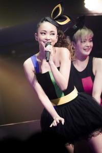 安室奈美恵に客席から「かわいいー」という声が飛んだ