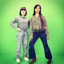 【エンタがビタミン♪】ブルゾンちえみ&水川あさみ 『ひとパー』コンビのファッションが大ウケ