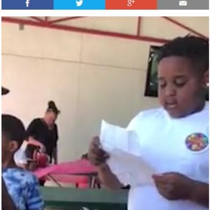 【海外発!Breaking News】「僕の本当のお父さんになって」10歳少年の言葉に継父が号泣(米)