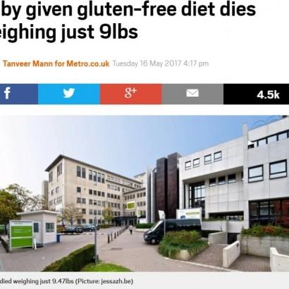 【海外発!Breaking News】グルテンフリー食を強いられた生後7か月男児、栄養失調で死亡(ベルギー)